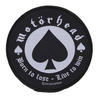patch Motörhead - BORN TO LOSE - RAZAMATAZ - SP2483