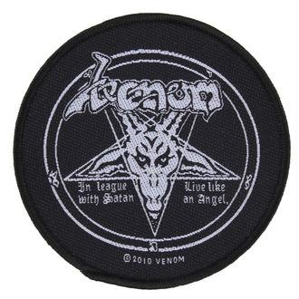 patch VENOM - IN LEAGUE WITH SATAN - RAZAMATAZ, RAZAMATAZ, Venom