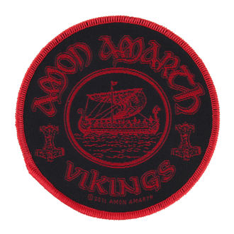 patch AMON AMARTH - VIKINGS CIRCULAR - RAZAMATAZ - SP2558