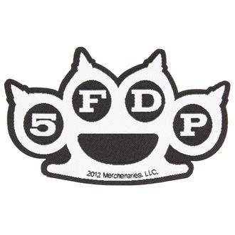 patch FIVE FINGER DEATH PUNCH - KNUCKLES CUT-OUT - RAZAMATAZ, RAZAMATAZ, Five Finger Death Punch