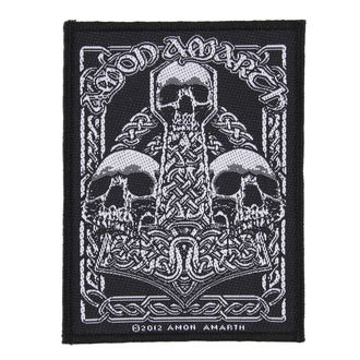 patch AMON AMARTH - THREE SKULLS - RAZAMATAZ - SP2639