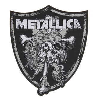 patch METALLICA - RAIDERS SKULL - RAZAMATAZ, RAZAMATAZ, Metallica