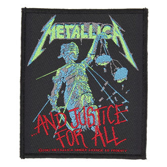 patch METALLICA - AND JUSTICE FOR ALL - RAZAMATAZ - SP2731