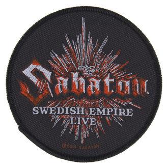 patch SABATON - SWEDISH EMPIRE LIVE - RAZAMATAZ, RAZAMATAZ, Sabaton