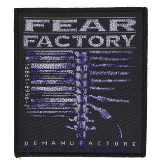 patch FEAR FACTORY - DEMANUFACTURE - RAZAMATAZ, RAZAMATAZ, Fear Factory