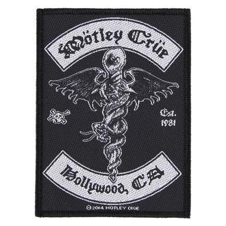patch Mötley Crüe - HOLLYWOOD - RAZAMATAZ, RAZAMATAZ, Mötley Crüe