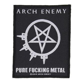 patch ARCH ENEMY - PURE FUCKING METAL - RAZAMATAZ, RAZAMATAZ, Arch Enemy
