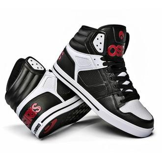 high sneakers women's unisex - Clone Black/Red/White - OSIRIS - 1322-130