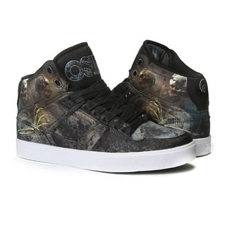 high sneakers women's unisex - Nyc 83 Vulc Huit/Skull/Army - OSIRIS, OSIRIS
