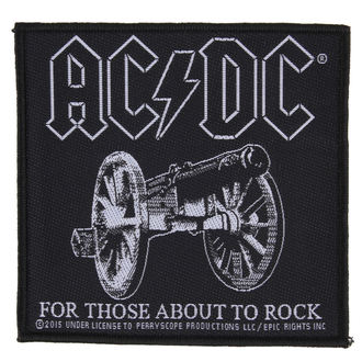 patch AC / DC - FOR THOSE ABOUT TO ROCK - RAZAMATAZ - SP2827