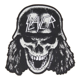 patch SLAYER - VVEHRMACHT SKULL CUT OUT - RAZAMATAZ, RAZAMATAZ, Slayer