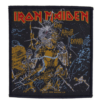 patch IRON MAIDEN - LIVE AFTER DEATH - RAZAMATAZ, RAZAMATAZ, Iron Maiden