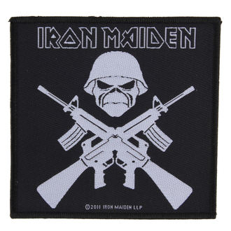 patch IRON MAIDEN - A MATTER OF LIFE AND DEATH - RAZAMATAZ - SP2534
