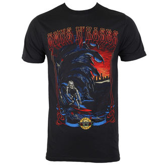 t-shirt metal men's Guns N' Roses - SURF NO DATE - BRAVADO, BRAVADO, Guns N' Roses
