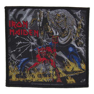patch IRON MAIDEN - NUMBER OF THE BEAST - RAZAMATAZ - SP2562