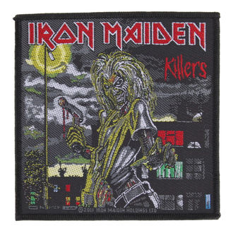 patch IRON MAIDEN - KILLERS - RAZAMATAZ - SP2561