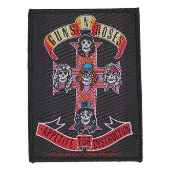 patch Guns N' Roses - APPETITE - RAZAMATAZ, RAZAMATAZ, Guns N' Roses
