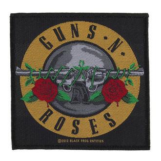 patch Guns N' Roses - BULLET LOGO - RAZAMATAZ, RAZAMATAZ, Guns N' Roses