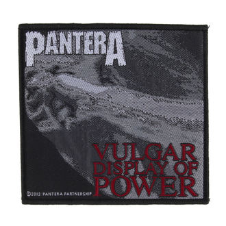 patch PANTERA - VULGAR DISPLAY OF POWER - RAZAMATAZ, RAZAMATAZ, Pantera