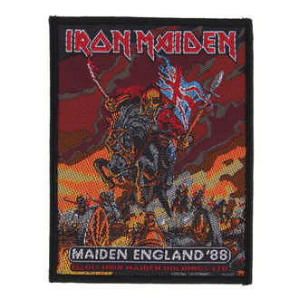 patch IRON MAIDEN - MAIDEN ENGLAND - RAZAMATAZ, RAZAMATAZ, Iron Maiden