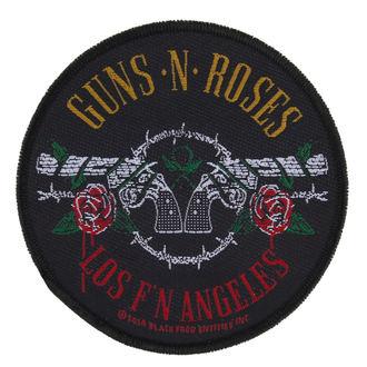 patch Guns N' Roses - LOS FYI ANGELES - RAZAMATAZ, RAZAMATAZ, Guns N' Roses