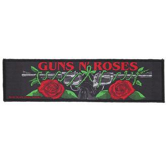 patch Guns N' Roses - LOGO/ROSES - RAZAMATAZ, RAZAMATAZ, Guns N' Roses