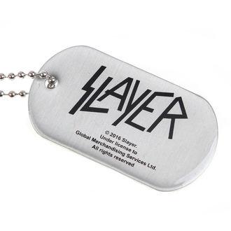 collar (dog tag) SLAYER - WEHRMACHT SKULL - RAZAMATAZ, RAZAMATAZ, Slayer