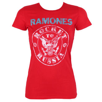 t-shirt metal women's Ramones - ROCKET RUSSIA - BRAVADO, BRAVADO, Ramones