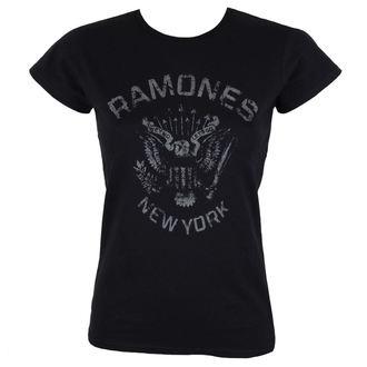 t-shirt metal women's Ramones - HEY HO BLACK - BRAVADO, BRAVADO, Ramones