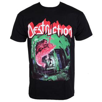 t-shirt metal men's Destruction - Cracked Brain -, Destruction