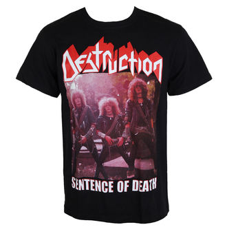 t-shirt metal men's Destruction - Sentence Of Death - MASSACRE RECORDS - o161_TS