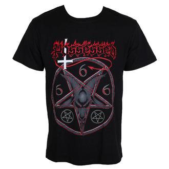 t-shirt metal men's Possessed - Goat Head - MASSACRE RECORDS, MASSACRE RECORDS, Possessed