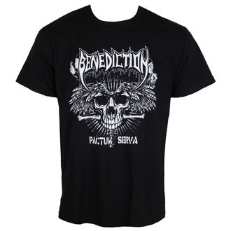 t-shirt metal men's Benediction - Pactum Serva -