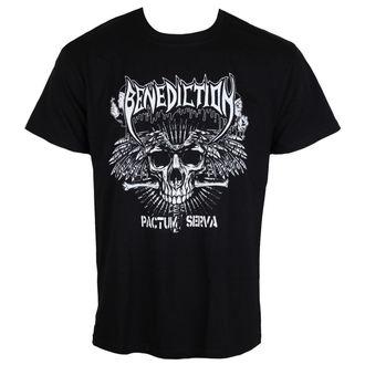 t-shirt metal men's Benediction - Pactum Serva -, Benediction