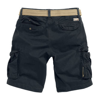 shorts men SURPLUS - XYLONTUM VINTAGE - BLACK, SURPLUS