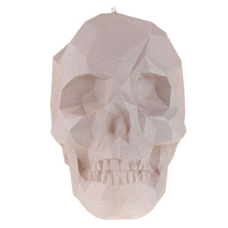 Candle Skull - Gray