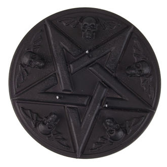 Candle Pentagram - Black Matt