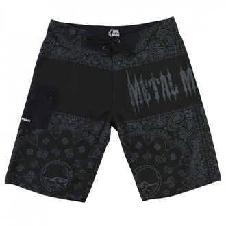 Shorts men's (swim shorts) METAL MULISHA - REPRESENT - BLK, METAL MULISHA