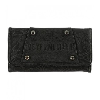Wallet METAL MULISHA - ROUND UP - BLK, METAL MULISHA