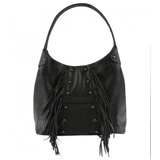 Handbag (bag) METAL MULISHA - ROUND UP HOBO - BL - BLK_SP7795001.01