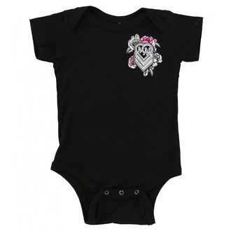 Overall children's METAL MULISHA - BABY GIRL ONESIE - BLK, METAL MULISHA