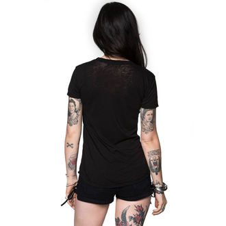 t-shirt street women's - HEARTLESS BURNOUT - METAL MULISHA, METAL MULISHA