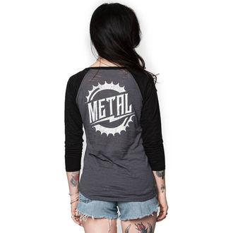 t-shirt street women's - RIDER BURNOUT - METAL MULISHA, METAL MULISHA