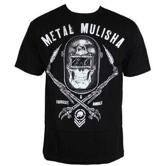 t-shirt street men's - TORCHED - METAL MULISHA, METAL MULISHA