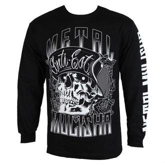 t-shirt street men's - WOODCUT - METAL MULISHA - BLK_SP7519002.01