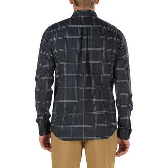 shirt men VANS - SEIBERT - BLACK, VANS
