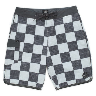 shorts men (swimsuits) VANS - MIXED SCALLOP BOA - CHECKERBO, VANS