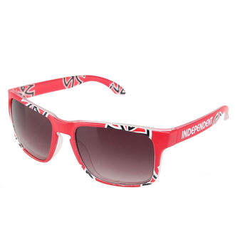 glasses sun INDEPENDENT - Cross / Bar Cardinal Red, INDEPENDENT