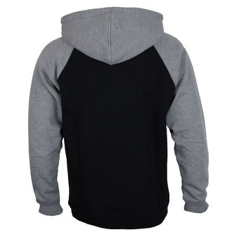hoodie men's - 88 TC Raglan Black/ Dark Heather - INDEPENDENT, INDEPENDENT