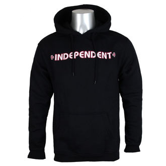 hoodie men's - Bar Cross Black - INDEPENDENT, INDEPENDENT